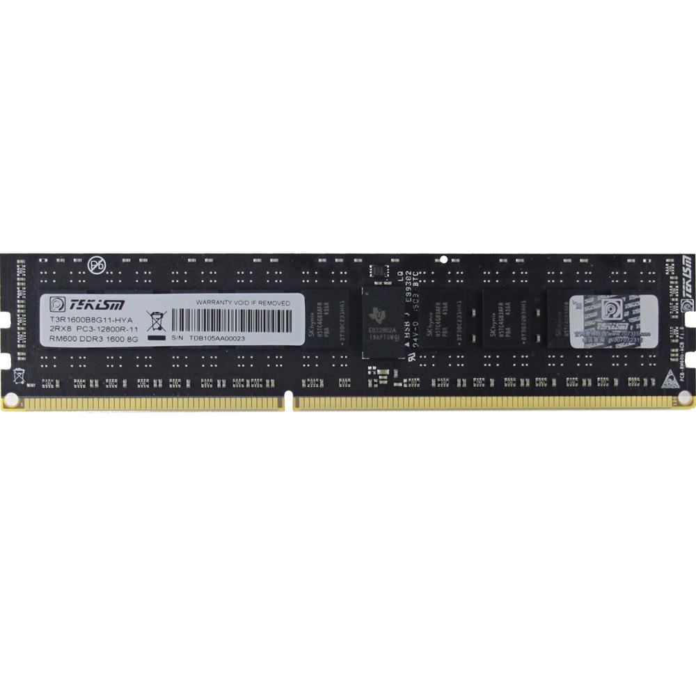 特科芯TEKISM RM600 DDR3 1600MHz 8GB RECC 服务器内存条