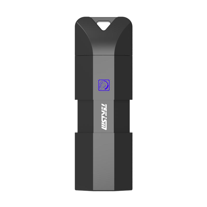 TEKISM特科芯 M1 LightningUSB3.0A口苹果U盘MFI认证高速读写 (手机电脑两用) 黑色
