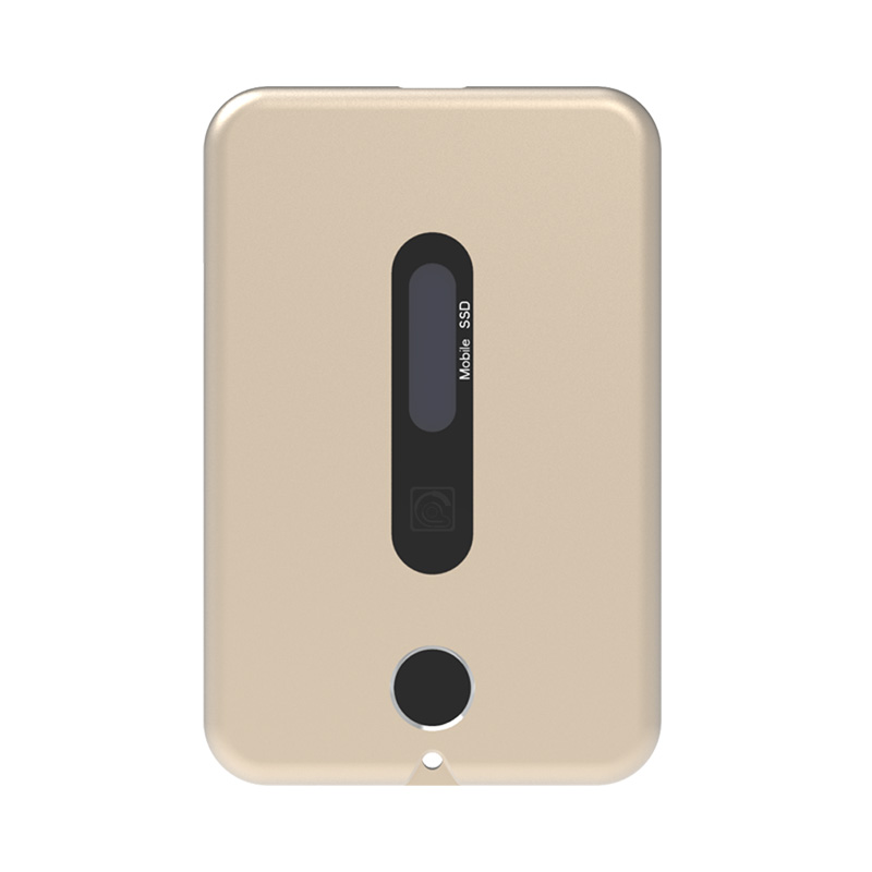TEK3 Lite指纹加密移动固态硬盘1TB 外置指纹识别固态硬盘1TB