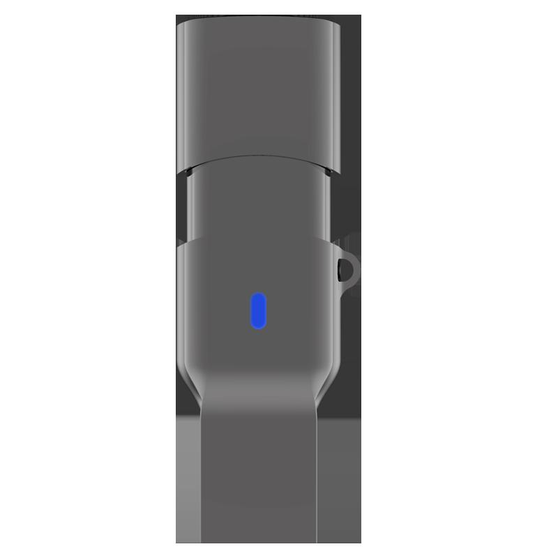 TEK360 USB3.1A/C至尊极速双接口U盘 读速高达420MB/s 亮灰 128G