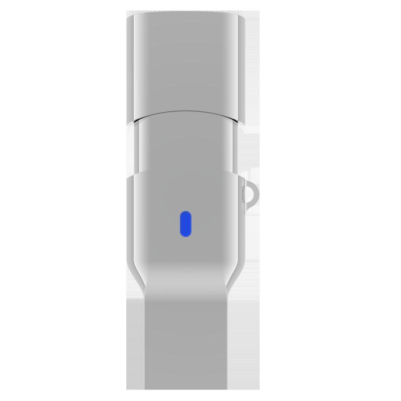 TEK360 USB3.1A/C至尊极速双接口U盘 读速高达420MB/s 亮银 128G