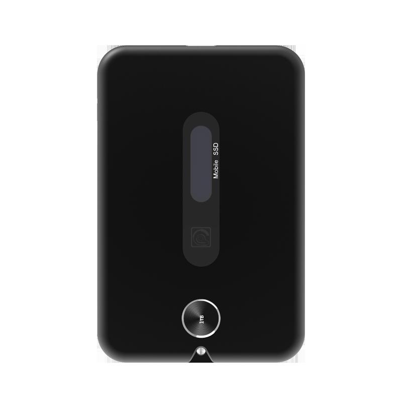 TEK3 移动固态硬盘1TB 外置移动固态硬盘NVMe传输10Gbps标准 典雅黑