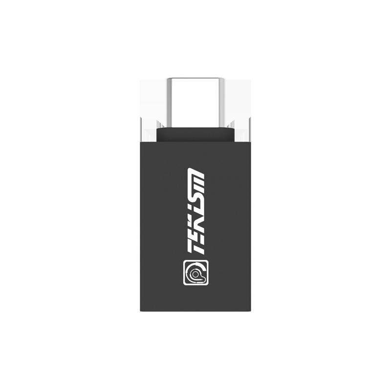 TEKISM特科芯 USBType-C 转 USB A口 手机数据充电线转换头(支持安卓手机)